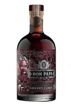 Don Papa SHERRY CASK 45 % 0,7 l - Rhum des Philippines