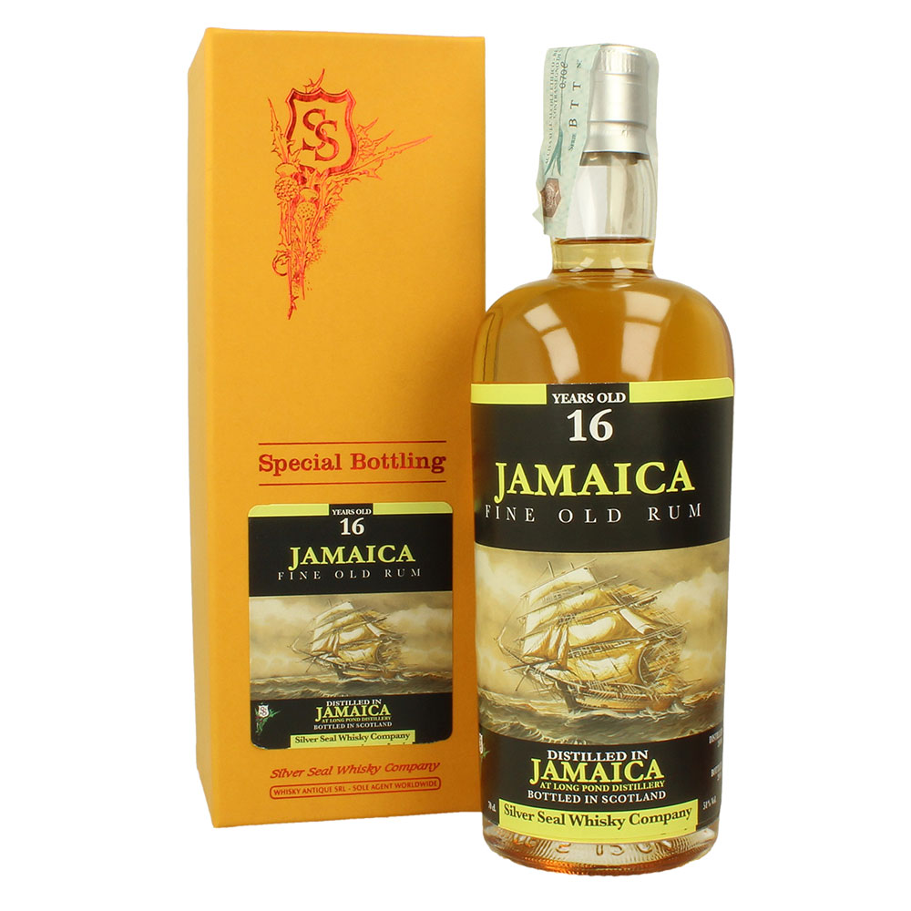 Silver Seal 2000 Long Pond Rum 16Y 51% 0,7L - Jamaica
